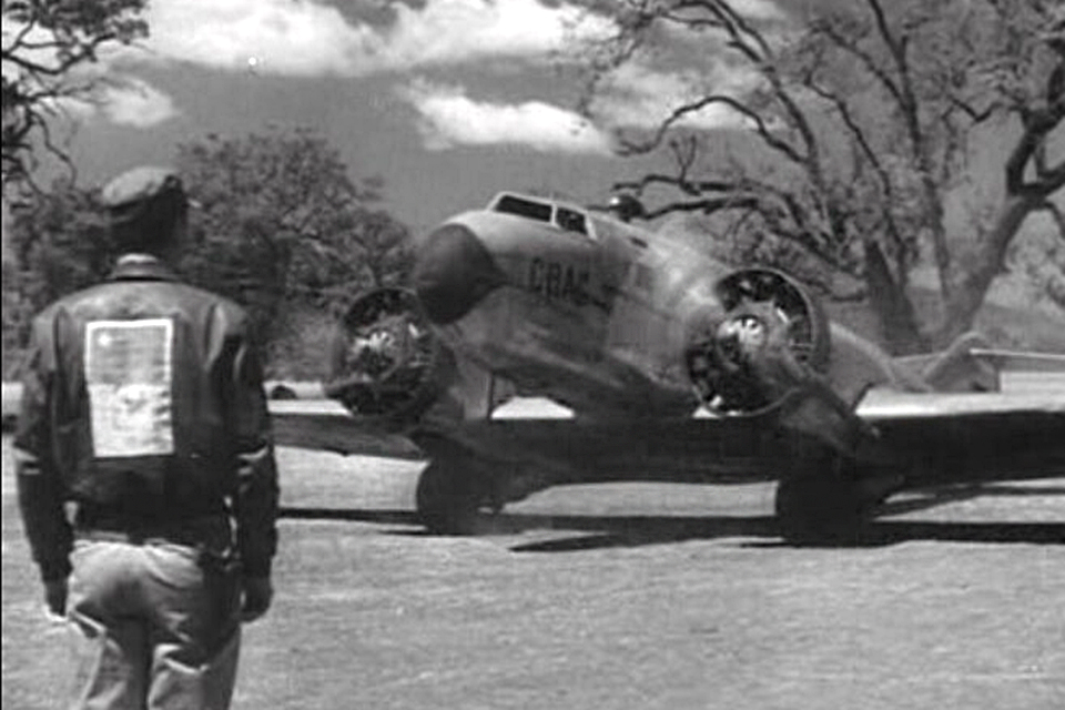 The Capelis XC-12 appeared in 13 movies between 1939 and 1957, including a bit part in Flying Tigers. (HistoryNet archives)